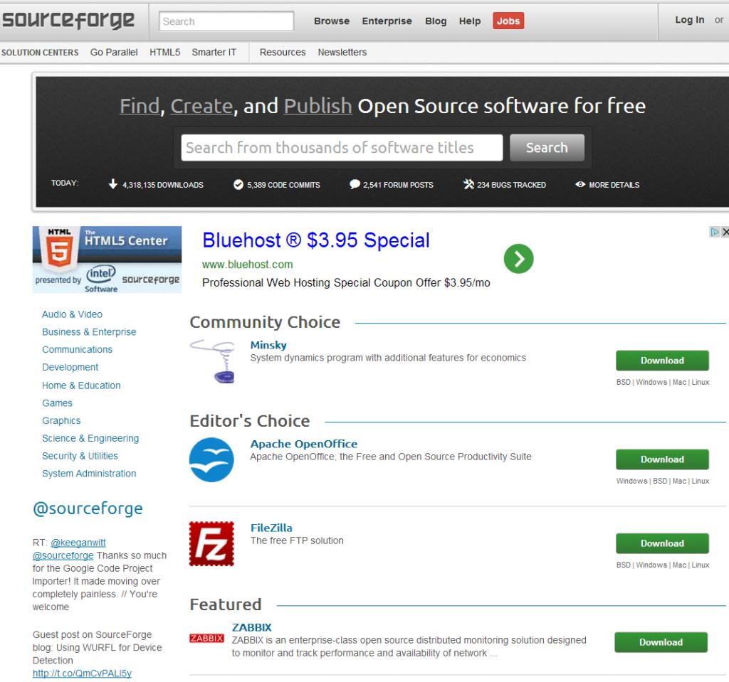 SourceForgeCommunityChoice